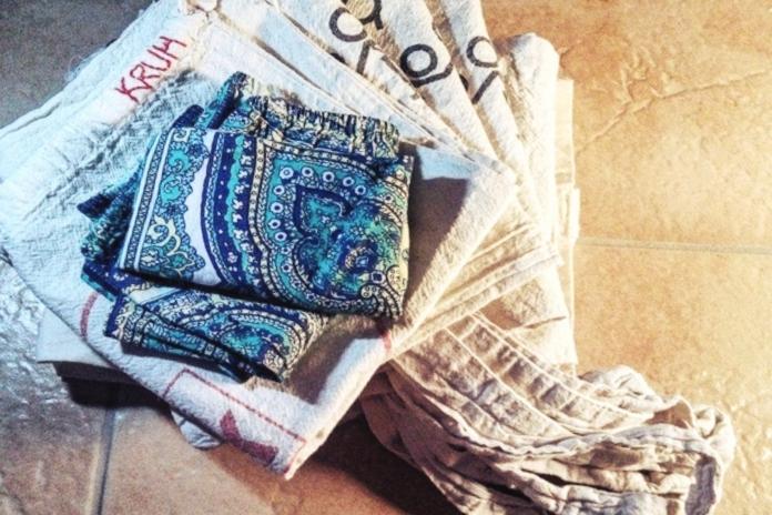 Vrečke za Zero Waste nakupovanje.